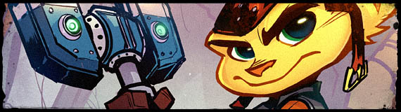Ratchet and Clank Comic