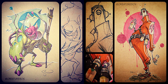 Kickstarter Sketches