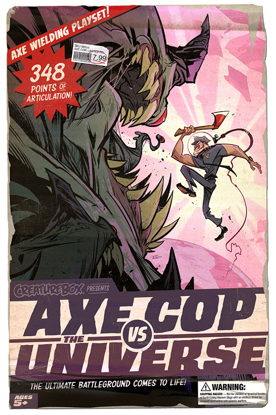 Axe Cop vs The Universe